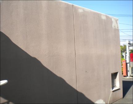 壁面シーリング施工前